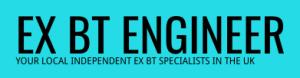 ex bt engineer telephone engineer rayleigh logo